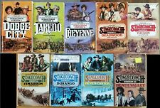 STAGECOACH STATION SERIES - HANK MITCHUM - WESTERN PAPERBACK LOT