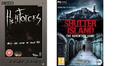hell forces hellforces & shutter island the adventure game  new&sealed