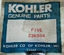 Kohler Engine Shim Spacer 236504, 5 in pack, .005, K241, K301, K321, K341, M