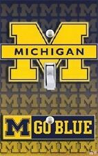 MICHIGAN WOLVERINES V SWITCHPLATE COVER
