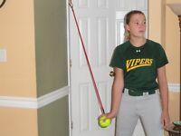 12 Inch Softball Single Set, Throwing/pitching training aid 15 YOA -Adult