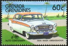 1956 NASH AMBASSADOR automobile voiture TIMBRE (1986 Grenada Grenadines)