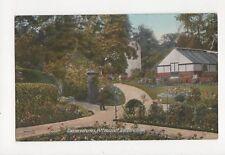 Conservatories Pittencrieff Dunfermline Vintage Postcard  217a