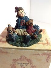 "Boyds Yesterdays Child #3546 ""Tami with Doug.Half Time"" Vintage 1995 Iob"