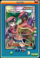 FA Pokemon Ranger FULL ART Pokemon TCG ONLINE ( PTCGO digital card )
