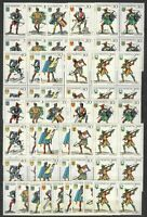 DEALER STOCK SAN MARINO MNH Nuovi 1973 Crossbow Balestrieri 9v 10 SETS s32631