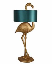 Stehleuchte Flamingo Figur Gold Stehlampe Bodenlampe Standlampe Wohnzimmer