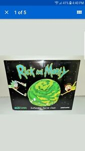 Rick and Morty NEW Inflatable Portal Chair with patch kit Adult Swim BloChair