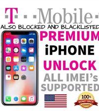 TMobile iPhone X /8+/7+/8/7/6S 100% PREMIUM FACTORY UNLOCK SERVICE DIRECT SOURCE