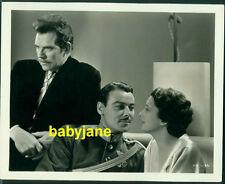 KAY FRANCIS WALTER HUSTON NILS ASTHER VINTAGE 8X10 PHOTO 1933 STORM AT DAYBREAK
