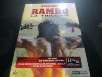 """COFFRET COLLECTOR 4 DVD NEUF """"RAMBO - LA TRILOGIE"""" Sylvester STALLONE"""