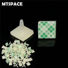 MTSPACE 100pcs/Set HC-5 Nylon Plastic Stick On PCB Spacer Standoff Locking