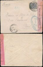 TRANSVAAL 1901 to FRANCE...MARTIAL LAW CENSOR
