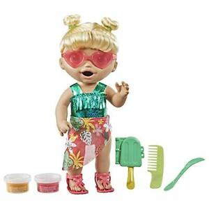 Baby Alive Sunshine Snacks Doll Eats & Poops Summer-Themed Waterplay Jan.1,21