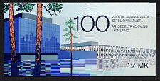 Finland 706 Booklet MNH Banknotes on Stamps