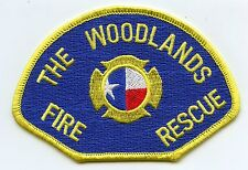 THE WOODLANDS TEXAS TX Fire Rescue FIRE PATCH