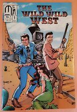 THE WILD WILD WEST #1 ~ NM 1990 MILLENNIUM COMICS ~ EARLY ADAM HUGHES COVER