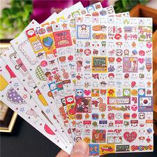 8 sheet expression Card Filofax notebook diary calendar paper Decoration sticker