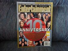 ENTERTAINMENT WEEKLY Magazine - Issue #540 - Our First Decade: Collector's Issue