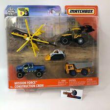 Construction Crew * Mission Force Series * 2020 Matchbox w/ Silverado
