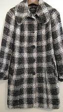 Debenhams Petite Collection Black and White Coat size 8