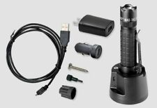 NEW Maglite Mag-Tac LED Rechargeable Flashlight Crowned Head 671 Lumens TRM1RA4