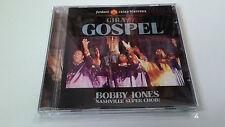 """BOBBY JONES AND THE NASHVILLLE SUPER CHOIR """"GIRA GOSPEL"""" CD 13 TRACKS COMO NUEVO"""