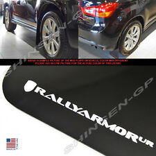 "Rally Armor UR ""Black Mud Flaps w/ White Logo"" for 2010-2015 Outlander Sport"