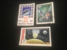Briefmarken -  Astronauten - Raumfahrt - 69 - 77 - Magyar Posta
