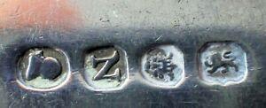 Geo III silver basting or stuffing spoon London 1808 3.7 tr oz 116g clear h/mark