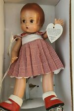 "Vintage 1999 Effanbee Doll Co. ""Patsy Gingham Red Dress 12"" roller skating rare"