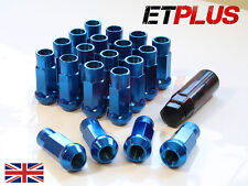 Blue GT50 Wheel Nuts x 20 12x1.5 Fits Ford Focus RS ST Zetec MK1 MK2 MK3