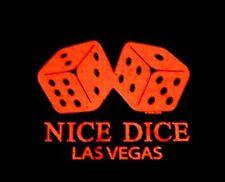 GAMBLER NICE DICE GAMBLING LAS VEGAS CRAPS GAMING HUMOROUS FUNNY T-SHIRT WS563