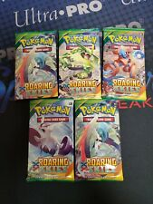 POKEMON TCG XY ROARING SKIES 5 FACTORY SEALED BOOSTER PACK LOT