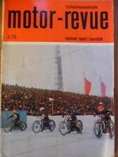 Tschechoslowakische MOTOR REVUE  3 - 1973 ** Flachbahn-Jawa 500 Skoda Motorsport