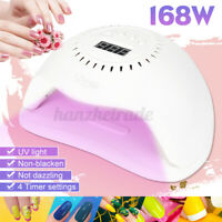 Nail Dryer Lamp Polish Gel Curing UV LED Light Nail Manicure Tools Aut