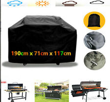 190cm BBQ Cover Outdoor Waterproof Barbecue Covers Garden Patio Grill Protector