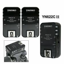 3PCS Yongnuo YN-622C II Wireless E-TTL Flash Trigger for Canon EOS Camera