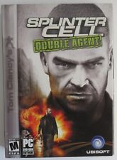 2006 SPLINTER CELL DOUBLE AGENT FOR PC - OPENED  (INV1407)