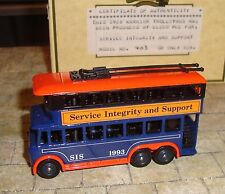 LLEDO -RARE- 1928 KARRIER E6 TROLLEY BUS - SERVICE INTEGRITY AND SUPPORT -LTD ED