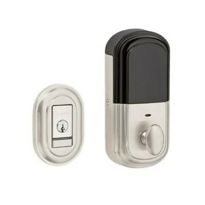Baldwin Evolved Traditional Single Cylinder Deadbolt with Bluetooth Technology