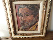 1967 SIGNED CLARICE AKIN HOLLOWAY PORTRAIT PAINTING/17 1/2 X 15 1/2 INCHES INTNL