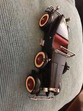 "Danbury Mint ""1927 Stutz Black Hawk "" Die Cast Car Vintage Mib Coa"