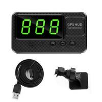 Digital Car Speedometer Speed Display MPH GPS For Bike Hots Motorcycle DC I4H4