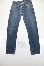 Lee Daren Slim Fit (Cod. F1932) Tg46 W32 L34 jeans usato Vita Alta vintage
