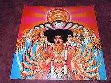 Jimi Hendrix Axis Bold As Love '67 UK Track Mono1st W/Insert Ultra Rare Pressing