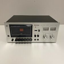 Vintage Sankyo Std-1700 Stereo Cassette Deck Dolby System Read