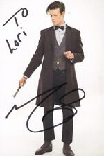 MATT SMITH Autographed Signed DOCTOR WHO Photograph - To Lori