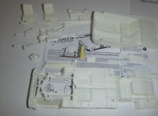 M69DCW MPC 69 DODGE CHARGER CHASSIS & INTERIOR PARTS Model Car Mountain 1/25