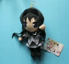 "Genuine Brand New Puella Magi Madoka Magica: 8"" Homura Plush Stuffed Toy ANIPLEX"